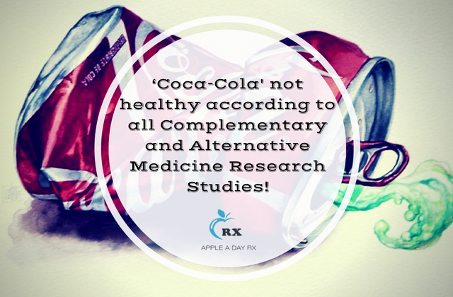 Better than the real thing, but 'Coca-Cola Life' is still not healthy according to all Complementary and Alternative Medicine Research Studies!