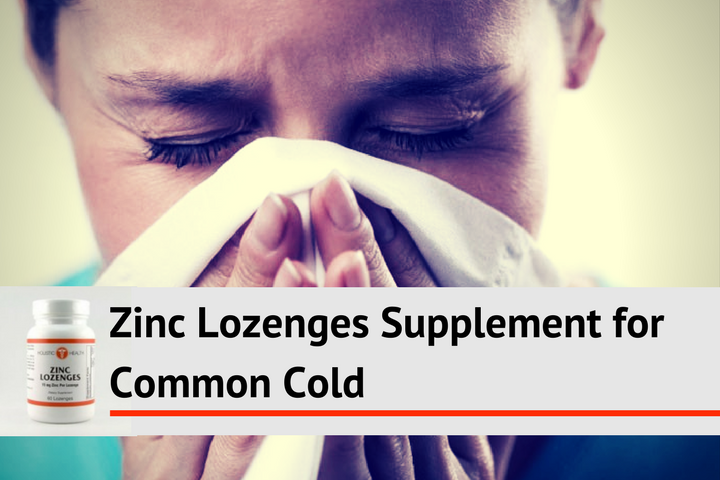 Zinc Lozenges Supplement Can Help Cure the Common Cold